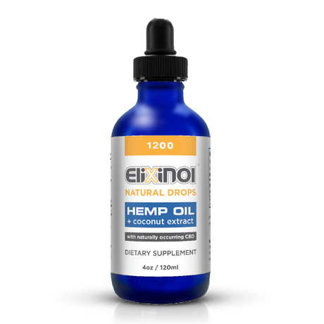 Elixinol Natural Drops 1200