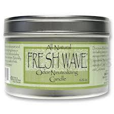 FRESH WAVE Odor Eliminating Candle