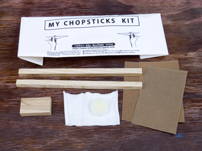 URBAN OLE ECOPARK URBAN OLE ECOPARK CHOP STICKS  KIT