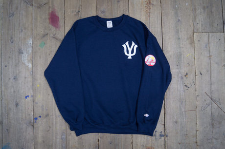 THE UNION NEW YOKU JANKEES SWEAT(NAVY)