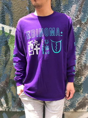 EBINOMA Metaphor card DX L/S Tee