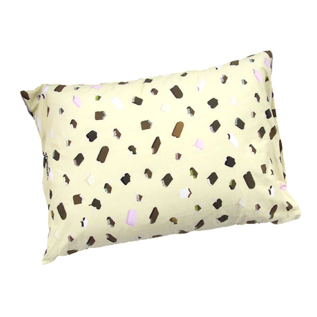 ICE CREAM Pillow Case (Cream)