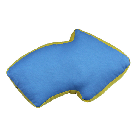YELLOW HAMMER Arrow Cushion (Blue/Yellow)