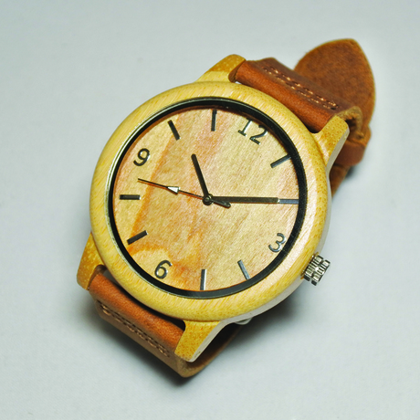 SAKER WOOD WATCH  #002
