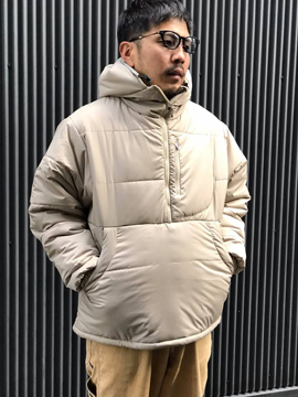 "THE UNION THE FABRIC ""PUFF SEVEN HALF ZIP JACKET"""
